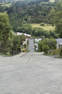 Blick nach unten Baldwin Street