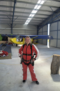 Skydive before