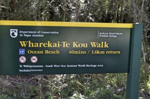 Walk Jackson Bay