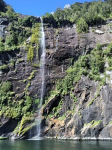 Wasserfall Milford Sound_Fotor