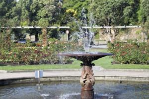Brunnen Rosengarten