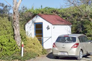 Hütte Waipara