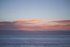 Sonnenaufgang Kaikoura