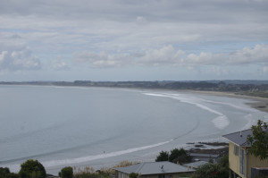 Ausblick Bucht Ahipara
