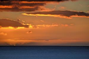 Sunrise1 tokumaru bay