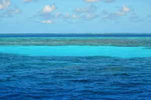 Blautöne Wasser
