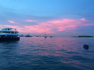 letzter Sunset